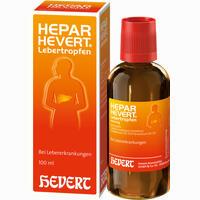 Abbildung von Hepar- Hevert Lebertropfen  100 ml