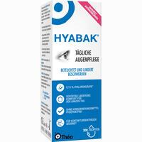 Abbildung von Hyabak Augentropfen 10 ml