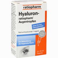 Abbildung von Hyaluron- Ratiopharm Augentropfen  2 x 10 ml