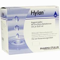 Abbildung von Hylan 0.65ml Augentropfen 60 Stück
