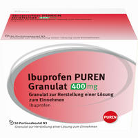 Abbildung von Ibuprofen Puren Granulat 400 Mg  50 Stück