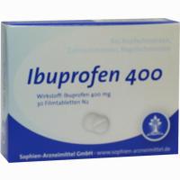 Abbildung von Ibuprofen Sophien 400 Filmtabletten 30 Stück
