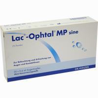 Abbildung von Lac Ophtal Mp Sine Augentropfen 30 x 0.6 ml