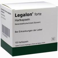 Abbildung von Legalon Forte Kapseln  Aca müller/adag parma 100 Stück