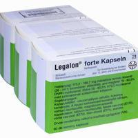 Abbildung von Legalon Forte Kapseln Emra-med 180 Stück