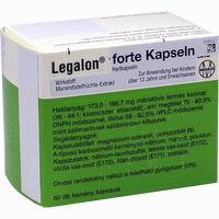 Abbildung von Legalon Forte Kapseln Emra-med 60 Stück