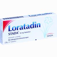 Abbildung von Loratadin Stada 10 Mg Tabletten 20 Stück