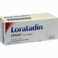 Abbildung von Loratadin Stada 10 Mg Tabletten 100 Stück