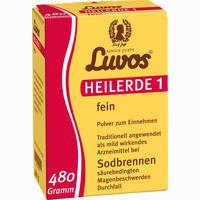 Abbildung von Luvos Heilerde 1 Fein Pulver  480 g