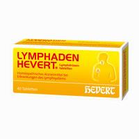 Abbildung von Lymphaden Hevert Lymphdrüsentabletten  40 Stück