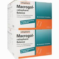 Abbildung von Macrogol- Ratiopharm Balance - Pulver zur Herstellung einer Lösung Zum Einnehmen  100 Stück