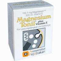 Abbildung von Magnesium Tonil Plus Vitamin E Kapseln 50 Stück