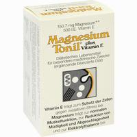 Abbildung von Magnesium Tonil Plus Vitamin E Kapseln 100 Stück