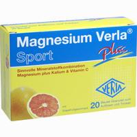 Abbildung von Magnesium Verla Plus Granulat 20 Stück