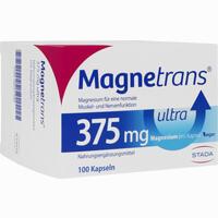 Abbildung von Magnetrans 375mg Ultra Kapseln  100 Stück