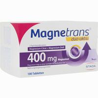 Abbildung von Magnetrans Duo Aktiv 400mg Tabletten 100 Stück