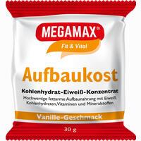 Abbildung von Megamax Aufbaukost Vanille Pulver 30 g
