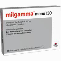 Abbildung von Milgamma Mono 150 Dragees 30 Stück