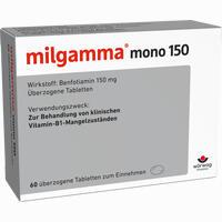 Abbildung von Milgamma Mono 150 Dragees 60 Stück