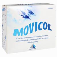 Abbildung von Movicol Beutel Pulver 20 Stück
