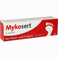 Abbildung von Mykosert Creme bei Haut- und Fußpilz  20 g