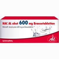Abbildung von Nac Al Akut 600mg Brausetabletten  20 Stück