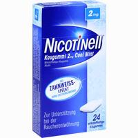 Abbildung von Nicotinell Kaugummi Cool Mint 2mg  24 Stück