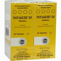 Abbildung von Notakehl D5 Tabletten 10 x 20 Stück