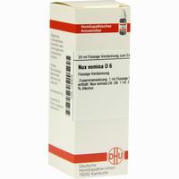 Abbildung von Nux Vomica D6 Dilution Dhu-arzneimittel 20 ml