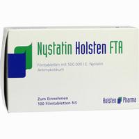 Abbildung von Nystatin Holsten Fta Filmtabletten 100 Stück