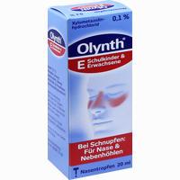 Abbildung von Olynth 0,1% Nasentropfen  20 ml