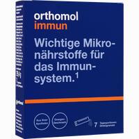 Abbildung von Orthomol Immun Direktgranulat Orange  7 Stück
