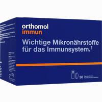 Abbildung von Orthomol Immun Trinkfläschchen + Tabletten Kombipackung  30 Stück