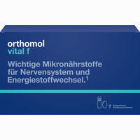 Abbildung von Orthomol Vital F Trinkfläschchen & Kapseln Kombipackung 7 Stück