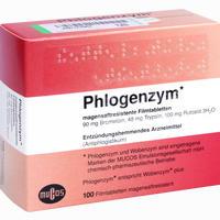 Abbildung von Phlogenzym Magensaftresistente Filmtabletten Kohlpharma 100 Stück