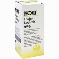 Abbildung von Phönix Thuja- Lachesis Spag. Tropfen 100 ml