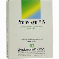 Abbildung von Proteozym N Dragees 20 Stück