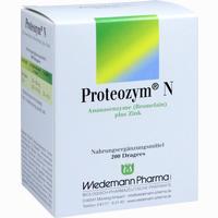 Abbildung von Proteozym N Dragees 200 Stück