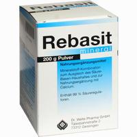 Abbildung von Rebasit Mineral Pulver 200 g