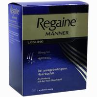 Abbildung von Regaine Männer Lösung 3 x 60 ml