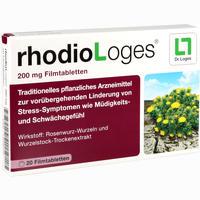 Abbildung von Rhodiologes 200mg Filmtabletten 20 Stück