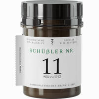 Abbildung von Schuessler Nr. 11 Silicea D12 Tabletten 1000 Stück