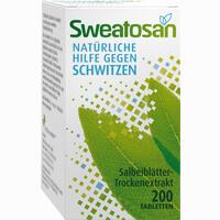 Abbildung von Sweatosan Tabletten 200 Stück