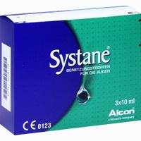 Abbildung von Systane Benetzungstropfen Augentropfen 3 x 10 ml