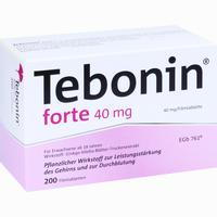 Abbildung von Tebonin Forte 40 Mg Filmtabletten  200 Stück