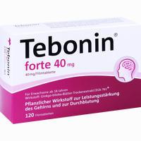 Abbildung von Tebonin Forte 40 Mg Filmtabletten  120 Stück
