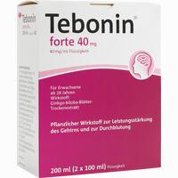 Abbildung von Tebonin Forte 40 Mg Flüssigkeit Fluid 2 x 100 ml