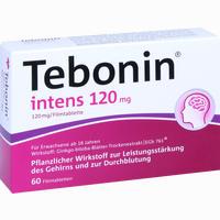 Abbildung von Tebonin Intens 120mg Filmtabletten 60 Stück