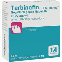 Abbildung von Terbinafin - 1 A Pharma Nagellack gegen Nagelpilz 6.6 ml