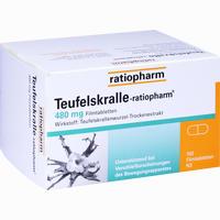 Abbildung von Teufelskralle- Ratiopharm Filmtabletten 100 Stück